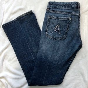 7 for all Mankind embellished bootcut jeans 28